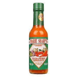 Marie Sharps Mild Hot Sauce 5oz by Ocean Winds Trading Co.