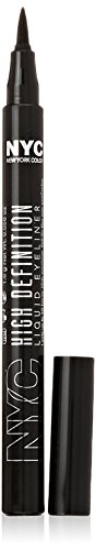 N.Y.C. New York Color High Definition Liquid Liner, Extra Black, 0.6 Fluid Ounce (New York Color Liquid Eyeliner compare prices)