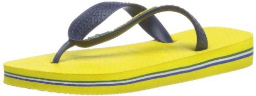 Havaianas Brasil Logo Flip Flops - Citrus Yellow [4110850.2197.412] (8 UK)