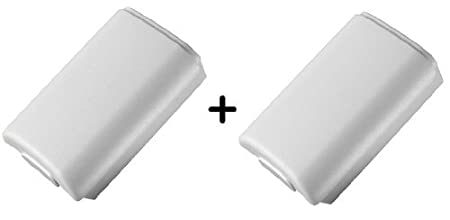 Rechargeable Controller Battery Pack White (2 Packs) [Xbox 360]
