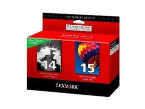 Lexmark #14 & #15 Black and Color Return Program P