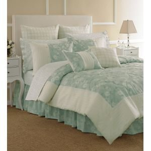 Amazon.com - Laura Ashley Caitlyn Ice Twin Sheet Set - Pillowcase And