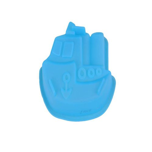 Boat-Shaped Type Moon Cake Mold Soap Mold Silicone Mold For Microwave Oven