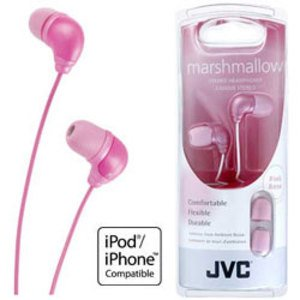 Jvc Hafx34P Ipod In Ear Headphones Pink