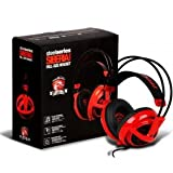 Steelseries Siberia V2 Full-size Red MSI Dragon Edition Headband Headsets