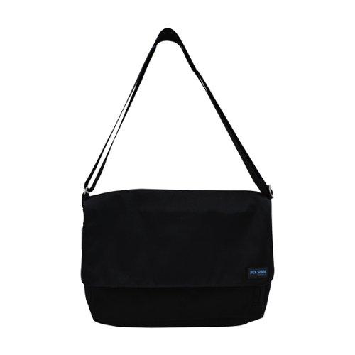 (ジャックスペード) JACK SPADE NYLON CANVAS EXPADABLE DAY BAG メッセンジャーバッグ カバン BLACK (並行輸入品)