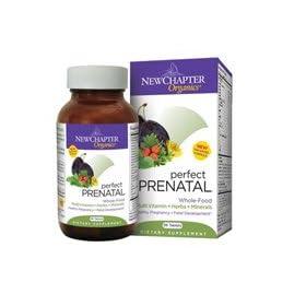 (史低)New Chapter Perfect Prenatal 新章完美孕宝有机营养素192粒SS $32.91