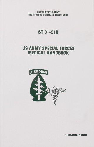 Books Bk198 U S Army Special Forces Medical Handbook Paperback W/ Information