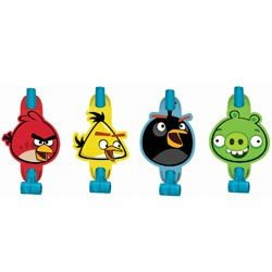 Angry Birds Party Supplies Blowouts Favors Miltrons 8pk