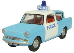Oxford Diecast Ford Anglia Police Panda 1:76 scale from Oxford Diecast
