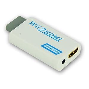 LEICKE KanaaN® Convertitore Wii a HDMI - scala il segnale Wii a 720p e 1080p