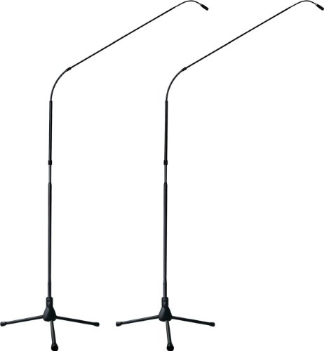 Earthworks Fw730Tpbmp | Flexwand 7-Foot Directional Microphone System With Tripod Base : Cardioid 30Hz To 30Khz (Matched Pair)