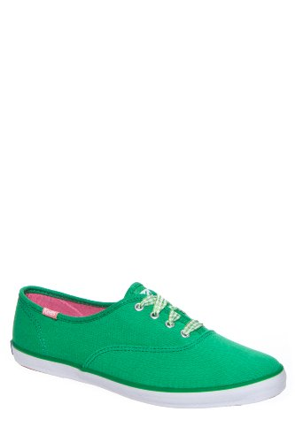 Keds Women'S Champion Gingham Lace Low Top Sneaker