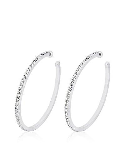 Shiny Cristal Orecchini  argento 925 rodiato/Bianco