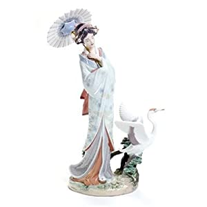 "Amazon.com - Lladro ""Japanese Portrait"" Handmade Porcelain"