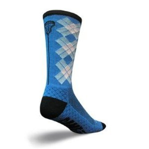 SockGuy Crew 8in Check Sticks Lacrosse Socks ( L/XL)