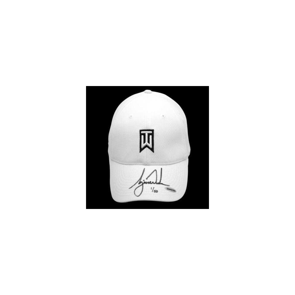 aa030718702 TIGER WOODS Hand Signed Tournament Nike Hat UDA LE Autographed Golf Hats  and Visors