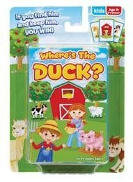 Where's The Duck? - Kids Card Game - 1