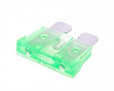 Sicherung Flachstecksicherung 19,2mm 30A grün