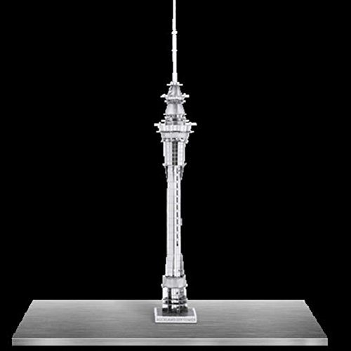 Fascinations Metal Earth 3D Laser Cut Model Auckland Sky Tower
