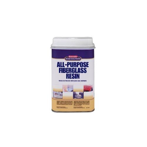 Bondo Home Solutions 20122 All Purpose Fiberglass Resin, 1 Quart