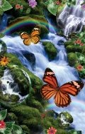 Cheap SunsOut Butterfly Fairyland Falls 1000pc Jigsaw Puzzle by Alixandra Mullins (B004HSFQ4G)