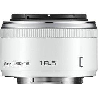 cheap Nikon 1 NIKKOR 18.5mm f/1.8 (White)