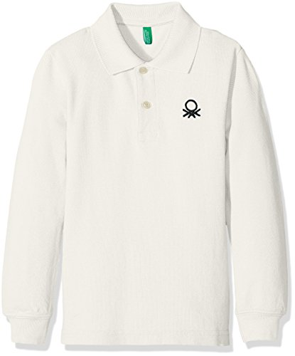 united-colors-of-benetton-3089c-polo-garcon-blanc-white-8-9-ans-taille-fabricant-l