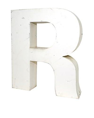 Uptown Down Vintage Block R Letter