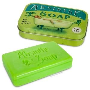 Absinthe Soap In Vintage Collectible Tin
