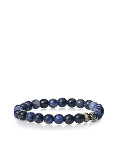 Devoted Men's Faceted Blue Sodalite Bracelet