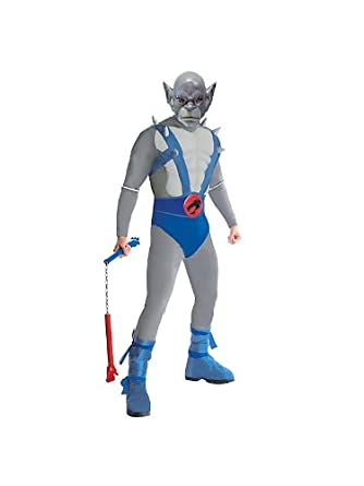 Thundercats Clothes on Amazon Com  Thundercats   Deluxe Panthro Adult Costume  Clothing