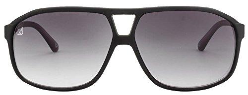 Vincent Chase VC 5185 Matte Black Grey Gradient C2 Sunglasses (103716)