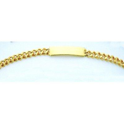 Ident Men's 3.75' Tailored Bracelet Color: Yellow