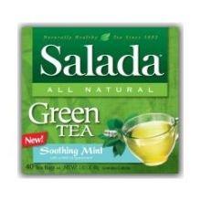 Salada Soothing Mint Green Tea -- 6 Per Case.
