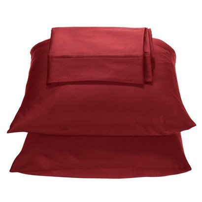 Target Home 325 Thread Count Wrinkle Free Sheet Set - Red Color - Twin Size front-44874