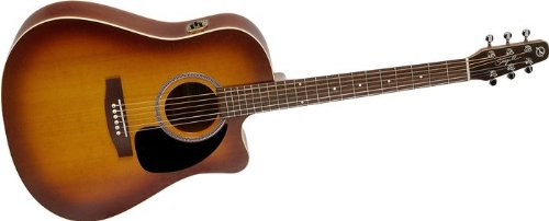 Seagull Entourage Rustic CW QIT Acoustic-Electric Guitar Rustic