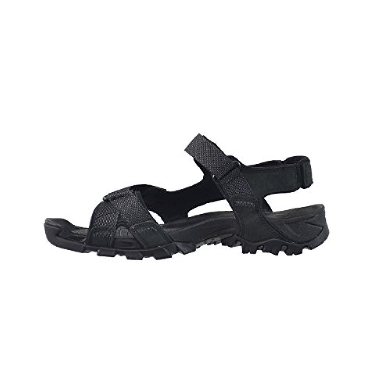 193eea7b79ab ... Timberland Eldridge Men s Leather Sandal Black 5820a (8 D(M) US) ...