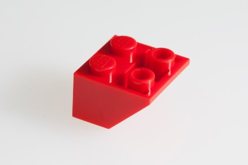 100x Lego Red 2X2/45° Inv. Roof Tiles Super Pack - 1