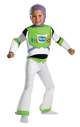 Boys Toy Story Buzz Lghtyr Deluxe Kids Child Fancy Dress Party Halloween Costume