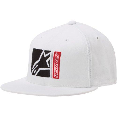 Alpinestars Longo 210 Hat WHITE Flexfit Small/Medium