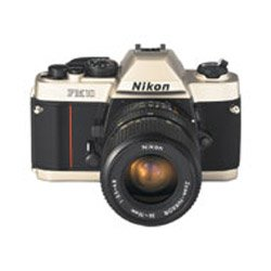 Nikon FM-10 35mm SLR Camera with 35-70mm f/3.5-4.8 Zoom Lens