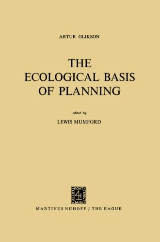 The Ecological Basis of Planning