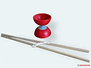 Gelle 606 - Diabolo 10 cm Stäbe aus Buche