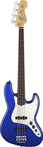 Fender American Standard Jazz Bass Fretless, Rosewood Fingerboard, Mystic Blue (American Fender Jazz Bass compare prices)
