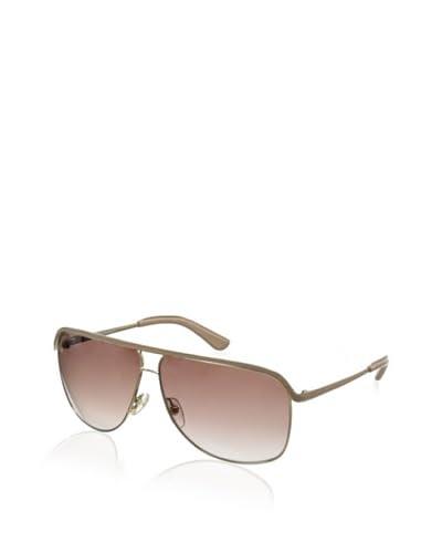 Salvatore Ferragamo Women's SF112L Sunglasses, Shiny Gold