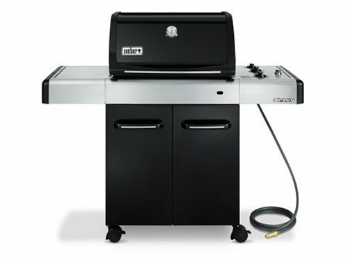 Weber 4521001 Spirit E-310 Natural Gas Grill, Black