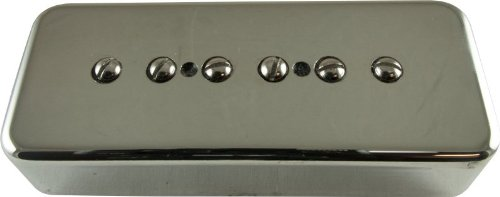 Pickup - Kent Armstrong, Stealth 90 - Noiseless P90 Neck, Nickel, Metal Cover