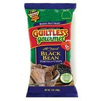 Guiltless Gourmet Spicy Black Bean Tortilla Chip (12x7 OZ) from Guiltless Gourmet