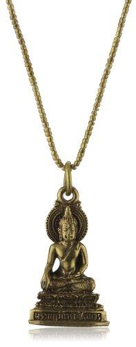 Vanessa Mooney Sitting Buddha Amulet Necklace